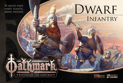 OAKP101 - Dwarf Infantry - Boxset (Oathmark) :www.mightylancergames.co.uk