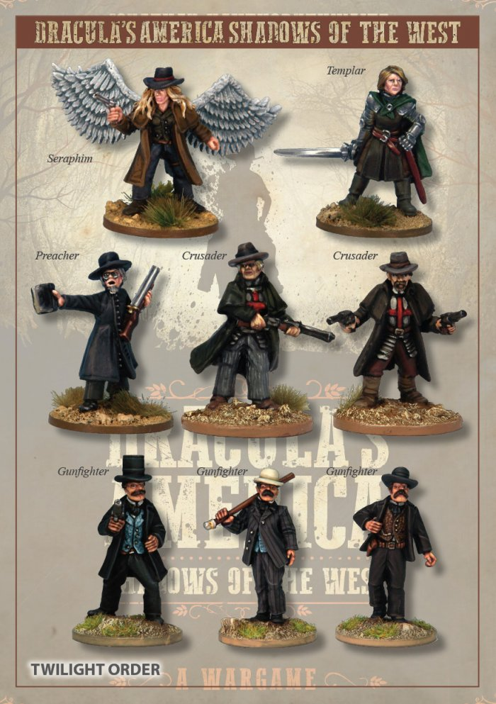 DRAC201 - The Twilight Order Posse - Box Set (Dracula's America - Shadows of the West) :www.mightylancergames.co.uk
