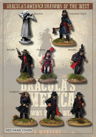 DRAC202 - The Red Hand Coven Posse - Box Set (Dracula's America - Shadows of the West) :www.mightylancergames.co.uk