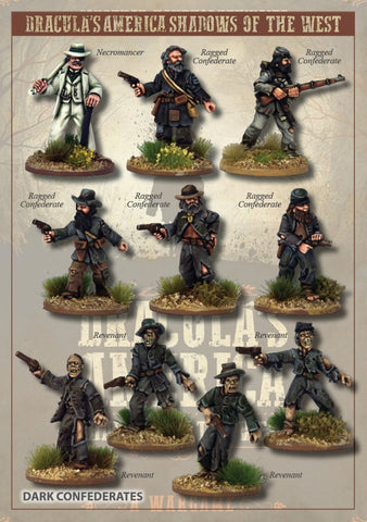 DRAC203 - The Dark Confederate Posse - Box Set (Dracula's America - Shadows of the West) :www.mightylancergames.co.uk