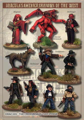 DRAC205 - The Crossroads Cult Posse - Box Set (Dracula's America - Shadows of the West) :www.mightylancergames.co.uk