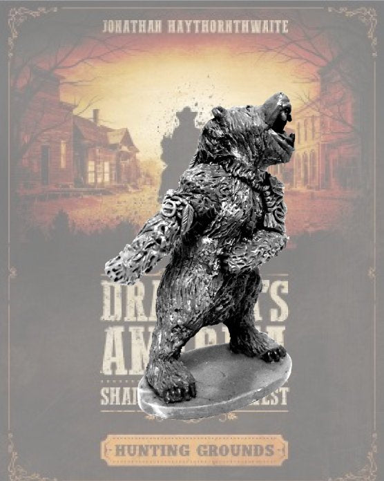 DRAC122 - Skinwalker in Bear Form - Blister Pack (Dracula's America - Shadows of the West) :www.mightylancergames.co.uk