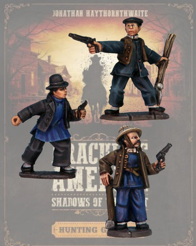 DRAC120 - Chinese Railway Workers - Blister Pack (Dracula's America - Shadows of the West) :www.mightylancergames.co.uk