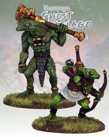Snake Men Savage & Hunter - FGA310 (Ghost Archipelago - Lost Colossus) :www.mightylancergames.co.uk