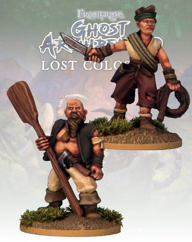Bosun & Topman - FGA322 (Ghost Archipelago) :www.mightylancergames.co.uk