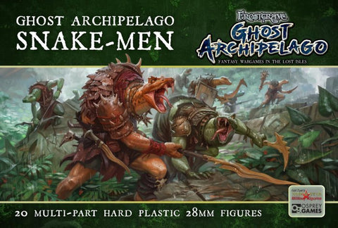 Frostgrave - Ghost Archipelago Snake-men: www.mightylancergames.co.uk