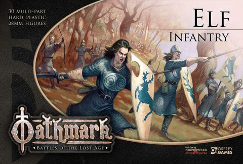 Oathmark - Elf Infantry: www.mightylancergames.co.uk