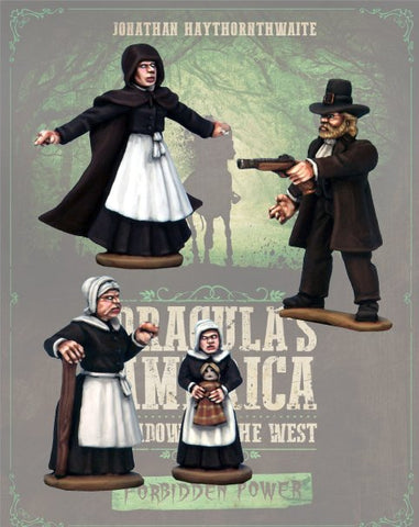 DRAC126 - The Sisters and Guardian - Blister Pack (Dracula's America - Shadows of the West) :www.mightylancergames.co.uk