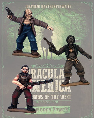 DRAC129 - Cultists of Dagon - Blister Pack (Dracula's America - Shadows of the West :www.mightylancergames.co.uk