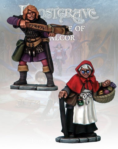Apothecary & Markswoman II - Frostgrave - FGV244