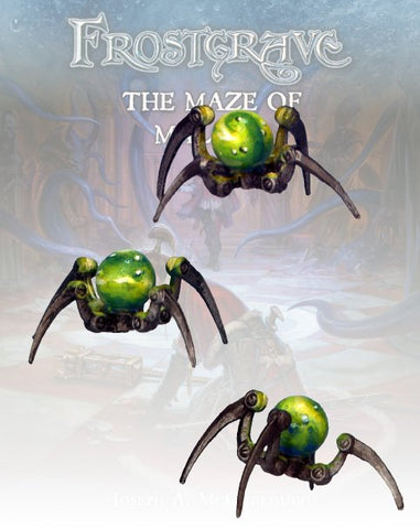 Frostgrave - Glass Spiders  (FGV336)