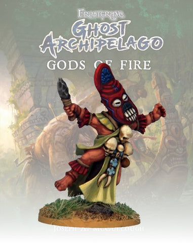 Tribal Warden I - FGA213 (Ghost Archipelago - Gods of Fire) :www,mightylancergames.co.uk