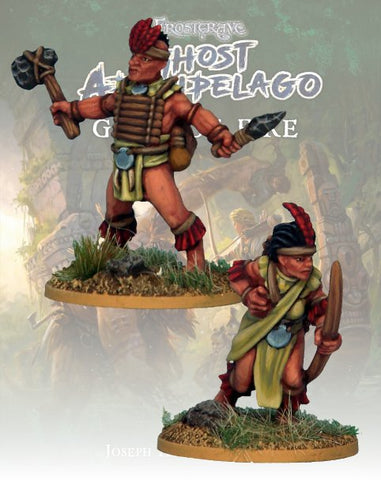 Tribals Tomb Robber & Scout  - FGA313 (Ghost Archipelago - Gods of Fire) :www.mightylancergames.co.uk