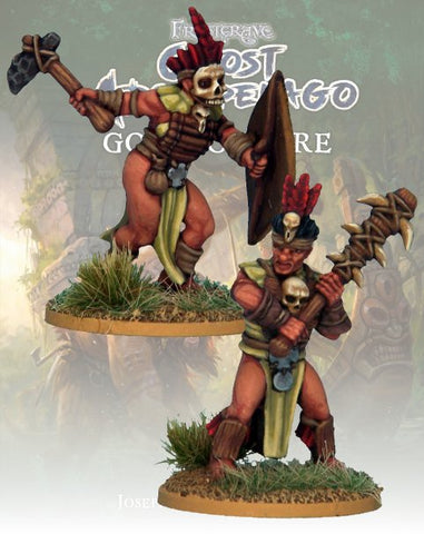 Tribals Freebooter & Mercenary  - FGA314 (Ghost Archipelago - Gods of Fire) :www.mightylancergames.co.uk