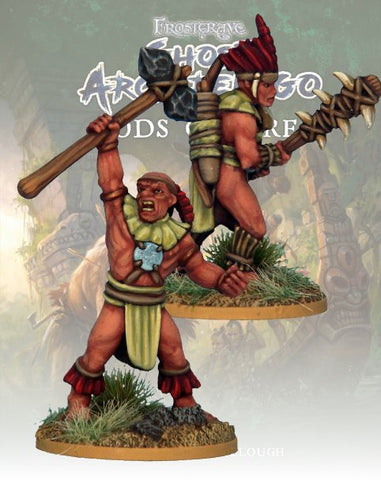 Tribals Savage & Hunter  - FGA315 (Ghost Archipelago - Gods of Fire) :www.mightylancergames.co.uk