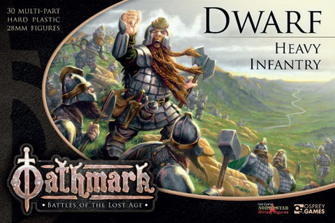 OAKP102 - Dwarf Heavy Infantry - Boxset (Oathmark) :www.mightylancergames.co.uk