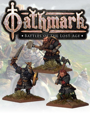 OAK109 - Dwarf Heroes - Blister Pack (Oathmark) :www.mightylancergames.co.uk