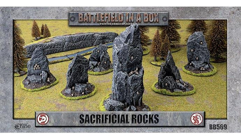 Sacrificial Rocks - Batttlefield in a Box (BB569)