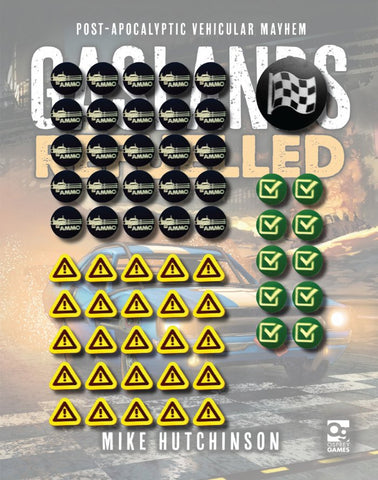 Tokens for Gaslands Refuelled