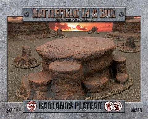 Badlands Plateau - Battlefield in a Box (BB548): www.mightylancergames.co.uk