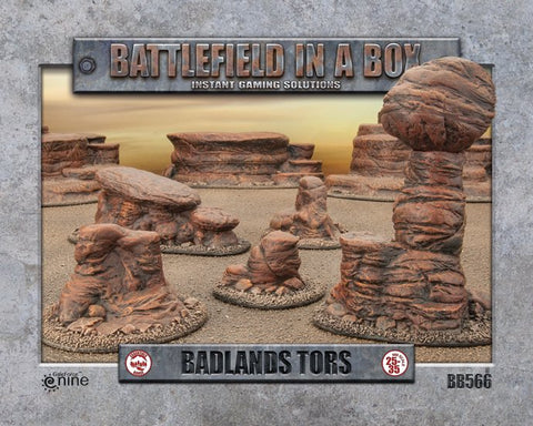 Badlands Tors- Batttlefield in a Box (BB566) :www.mightylancergames.co.uk