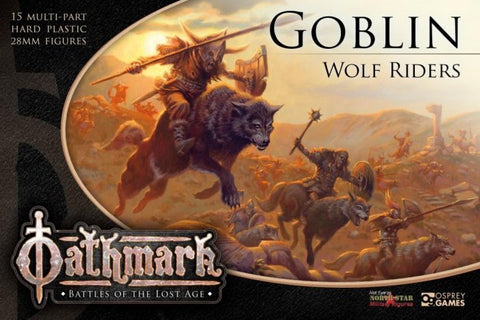 Goblin Wolf Riders - Box Set (Oathmark OAKP202) :www.mightylancergames.co.uk