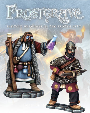 Frostgrave: Apothecary & Marksman: www.mightylancergames.co.uk