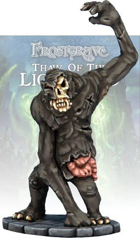 Frostgrave Zombie Snow Troll: www.mightylancergames.co.uk