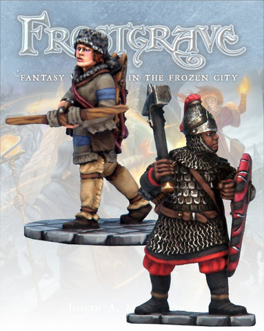 Frostgrave - Captains I: www.mightylancergames.co.uk