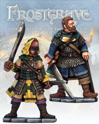 Frostgrave: Captains II: www.mightylancergames.co.uk