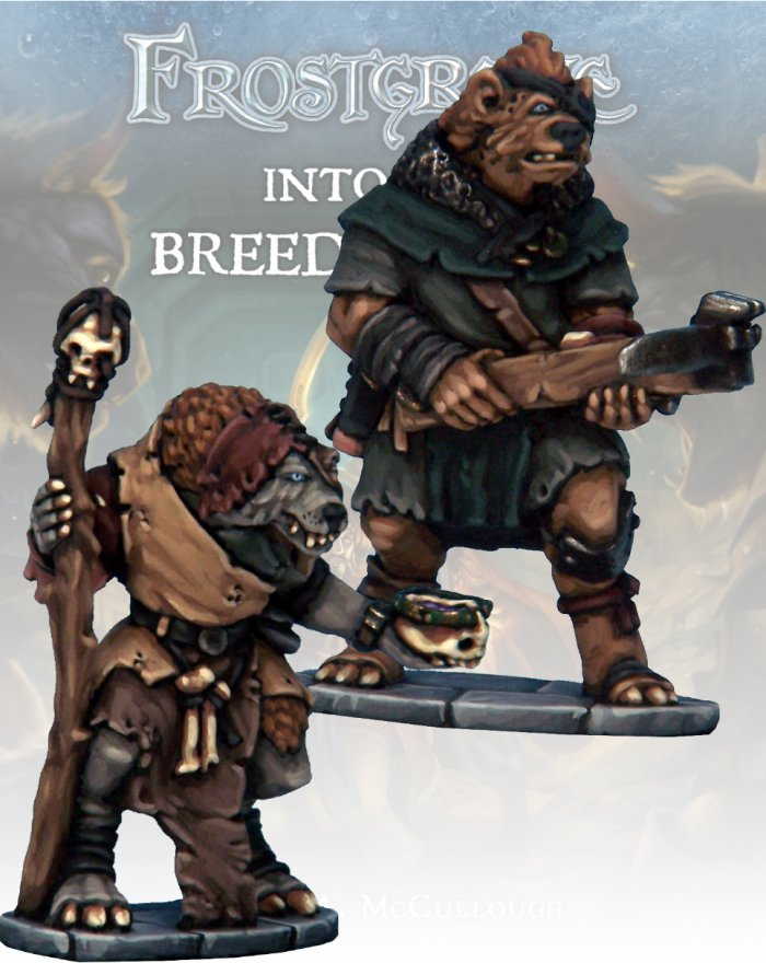 Frostgrave: Gnoll Apothecary & Marksman