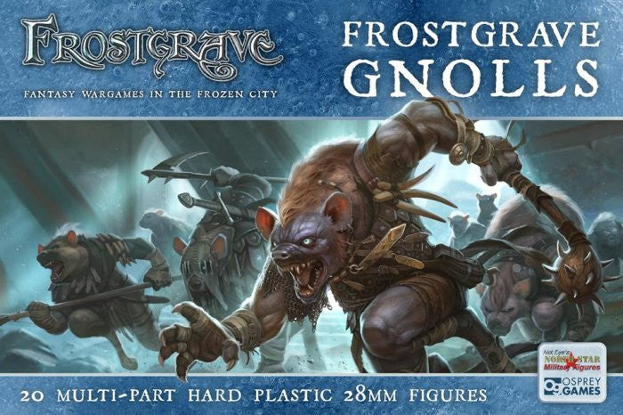 Frostgrave - Gnolls Plastic Box set: www.mightylancergames.co.uk
