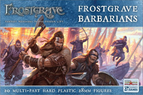 Frostgrave - Barbarians Box set: www.mightylancergames.co.uk