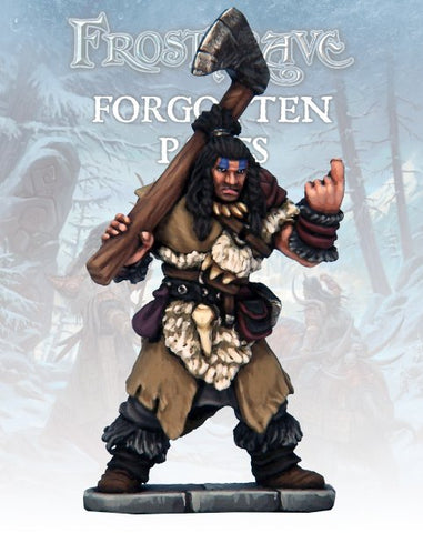 Frostgrave - Barbarian Chief  (FGV405)