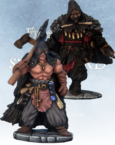 Frostgrave - Cultist Captains  (FGV220)