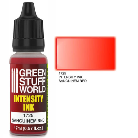 Green Stuff World Sanguiniem Red Intensity Ink