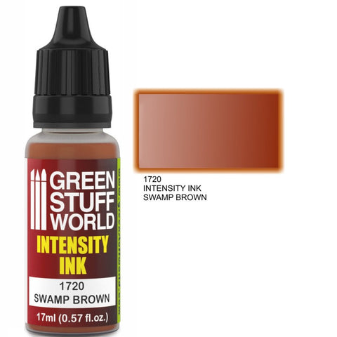Intensity Ink - Swamp Brown (GSW 1720) :www.mightylancergames.co.uk