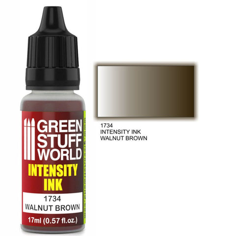 Intensity Ink - Walnut Brown (GSW 1734) :www.mightylancergames.co.uk