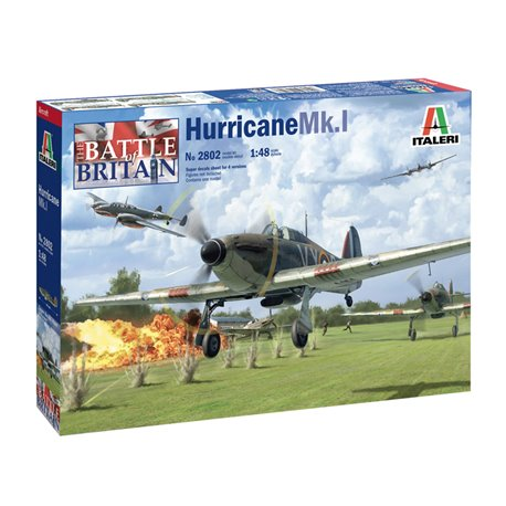 Hurricane Mk.I - Italeri 1/72 (N0 2802) :www.mightylancergames.co.uk