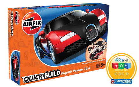 Bugatti 16.4 Veyron - black/red (Quickbuild)