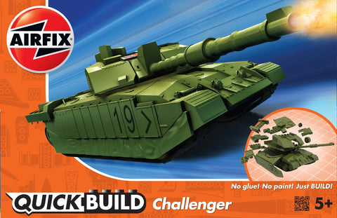 Challenger Tank - Green (Quickbuild)
