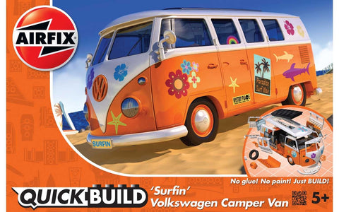 VW Camper Van - 'Surfin' (Quickbuild)