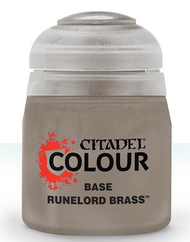 Runelord Brass - Base (Citadel Paint) ****Pre-order for release on the 25th July 2020****