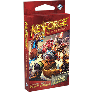 Keyforge Deck: wwwmightylancergames.co.uk