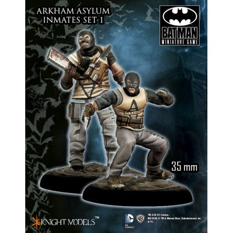 Arkham Asylum Inmates Set #1 - Batman Miniatures Game (35DC094)