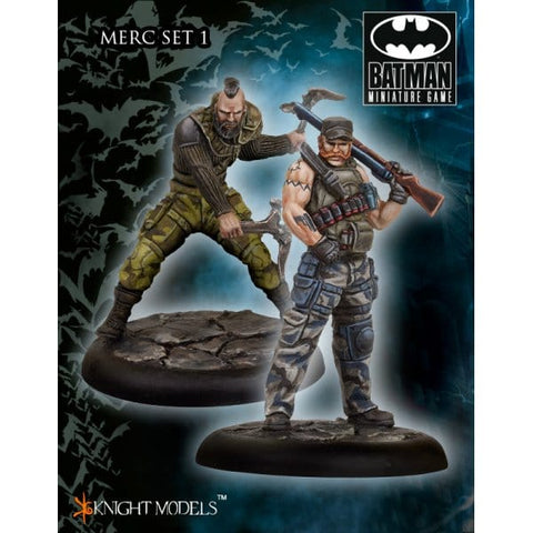 Mercs set 1 - Batman Miniatures Game (K35BA0008)