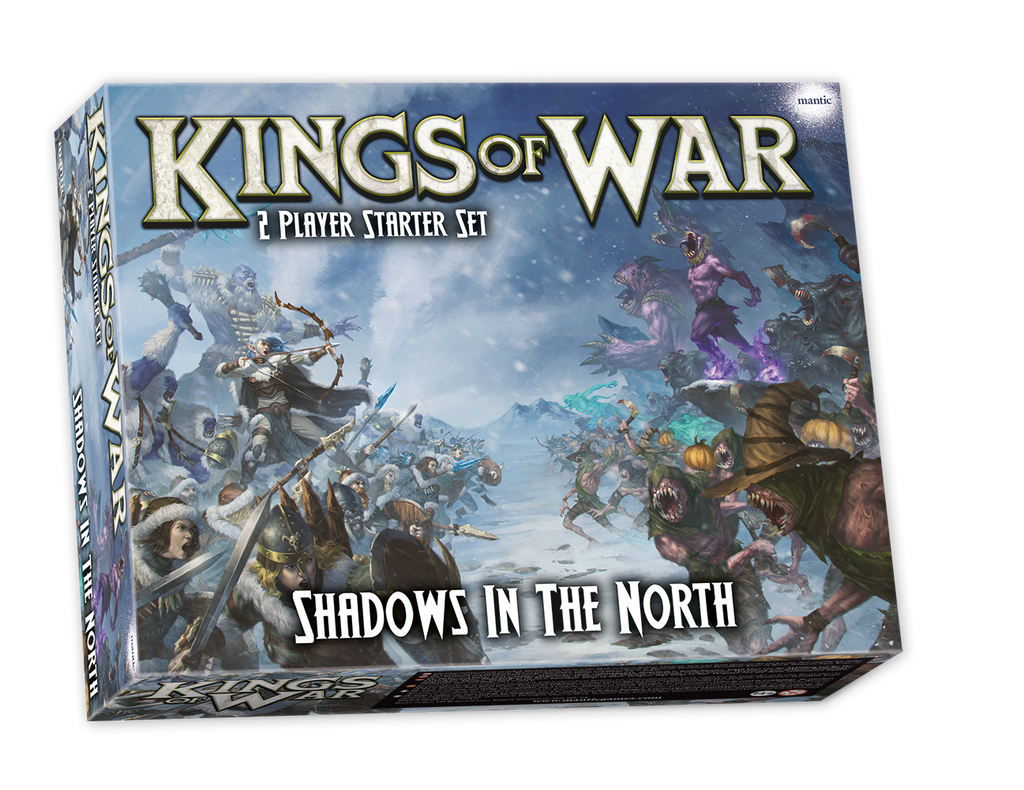 Shadows in the North - 2-Player Starter Set (Kings of War) :www.mightylancergames.co.uk