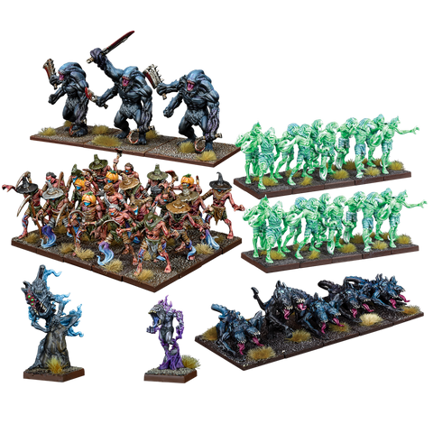 Nightstalker Army - Kings of War :www.mightylancergames.co.uk