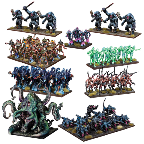 Nightstalker Mega Army - Nightstalkers (Kings of War)