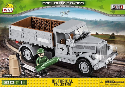 Cobi - Small Army - Opel Blitz 3,6-36 S (310 pieces)